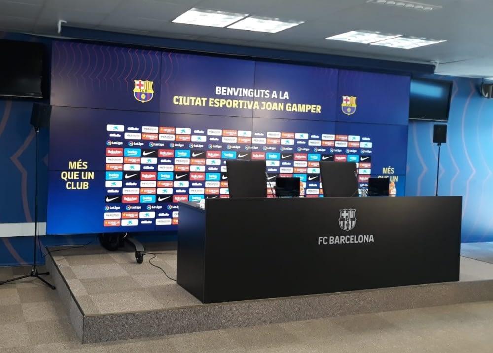 Montaje audiovisual de Ciutat Esportiva FC Barcelona