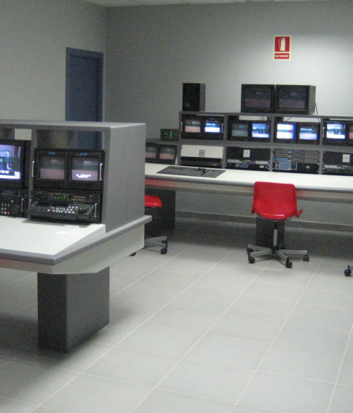 Salas de monitorización broadcast