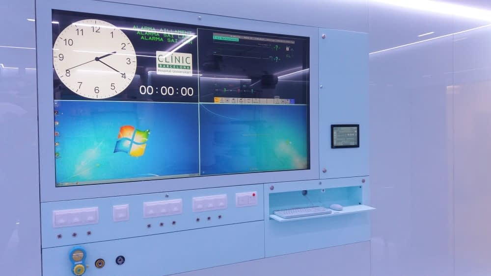 Hospital Clínic de Barcelona Sala Audiovisual