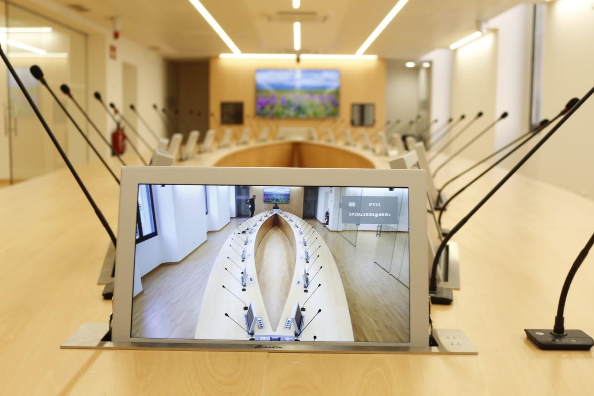 Universitat de Barcelona Sala Audiovisual