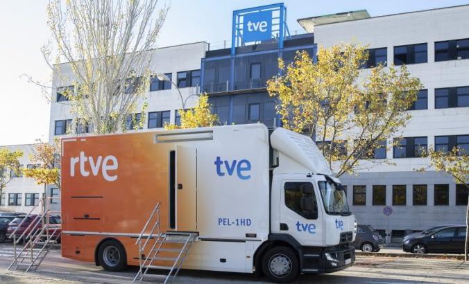 Suministro equipos audiovisuales para TVE